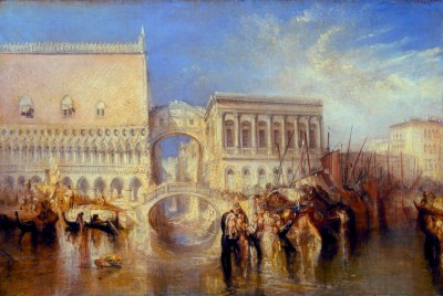 Venice, The Bridge of Sighs - William Turner