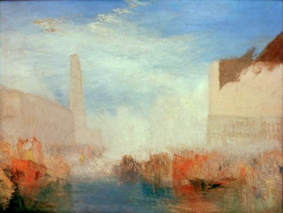 Venice -The Piazetta with the Ceremony of the Doge marrying the Sea - William Turner