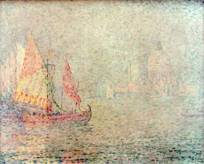 Venise, brume - Paul Signac