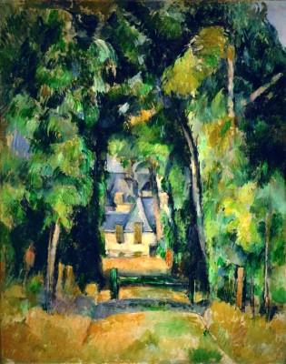 Venue at Chantilly - Paul Cézanne