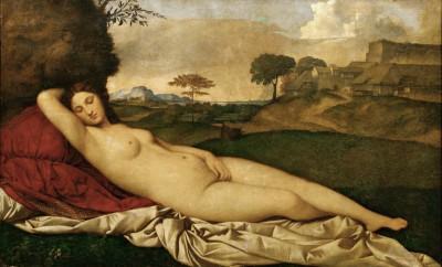 Venus Resting - Tycjan