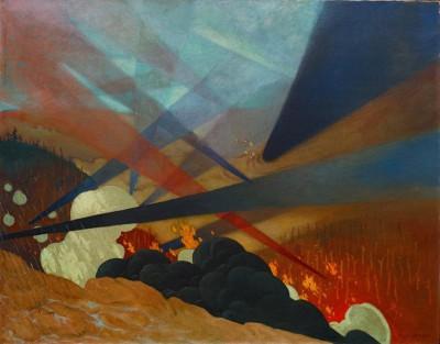 Verdun_ tableau de guerre interprète - Félix Vallotton