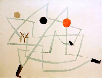 Verhext und eilig - Paul Klee