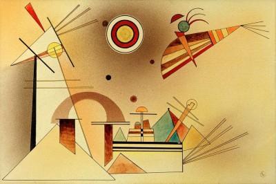 Vermindertes Gewicht - Wassily Kandinsky