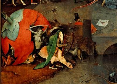 VERSUCHUNG DES HL. ANTONIUS - Hieronim Bosch