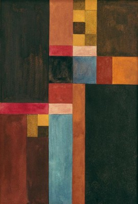 Vertical, horizontal, square, rectangular - Sophie Taeuber-Arp