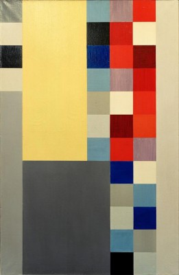 Vertical-horizontal composition - Sophie Taeuber-Arp