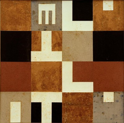 Verticalhorizontal elements and objects - Sophie Taeuber-Arp