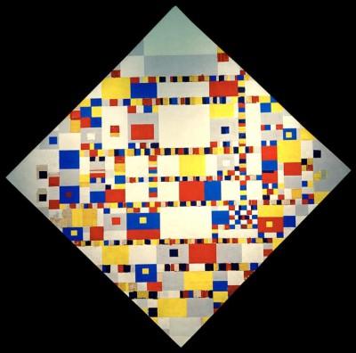 Victory Boogie Woogie - Piet Mondrian
