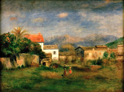 View near Cagnes - Pierre Renoir