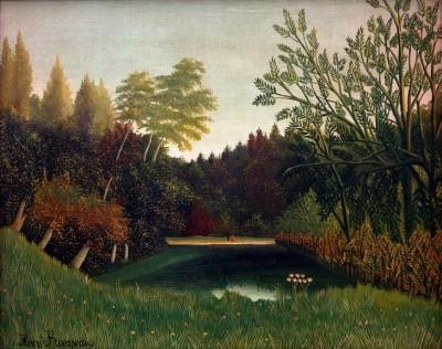 View of Bois de Boulogne - Henri Rousseau