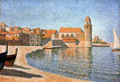 View of Collioure - Paul Signac