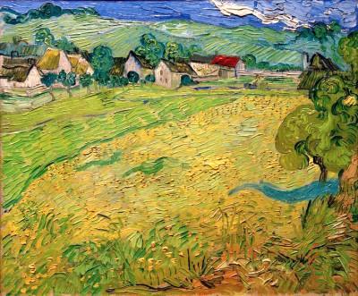 View of Les Vessenots near Auvers - Vincent van Gogh