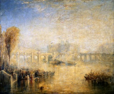 View of Pont Neuf in Paris - William Turner