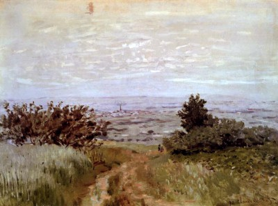 View of the Plain near Argenteuil - Claude Monet