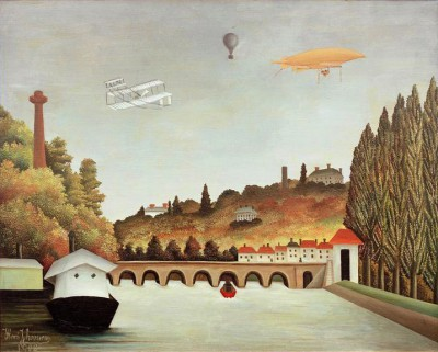 View of the Pont de Sèvres - Henri Rousseau