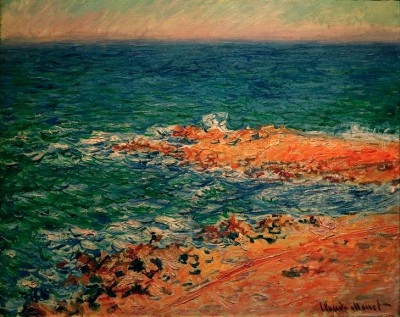 View of the Sea - Claude Monet