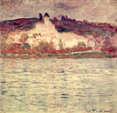 View of Vétheuil - Claude Monet