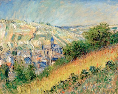 View of Vetheuil sur Seine - Claude Monet