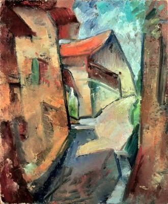 Village - Ernst Ludwig Kirchner