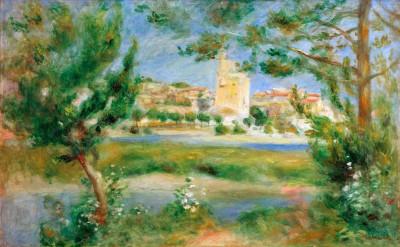 Villeneuve-les-Avignon - Pierre Renoir