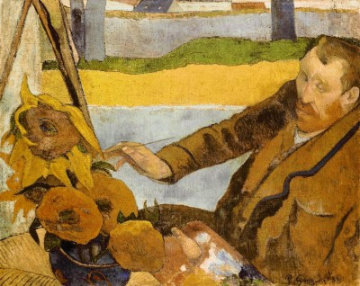 Vincent van Gogh painting sunflowers - Paul Gauguin
