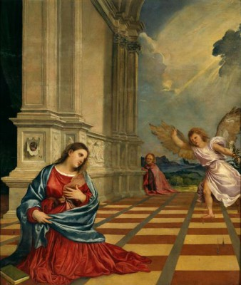 Virgin's Annunciation - Tycjan