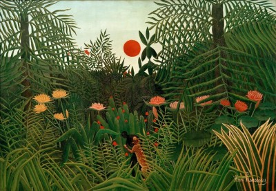 Virgin Forest - Henri Rousseau