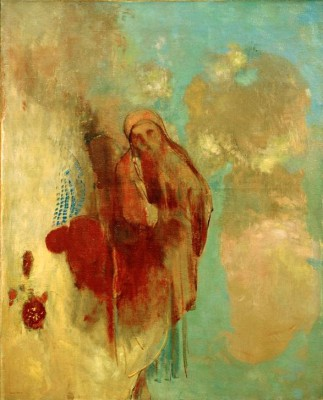 Vision in the clouds - Odilon Redon
