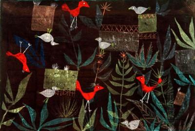 Vogelgarten - Paul Klee