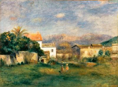 Vue de Cagnes - Pierre Renoir