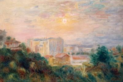Vue de Montmartre - Pierre Renoir