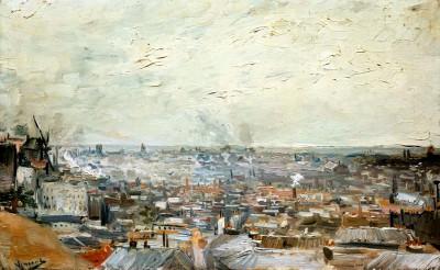 Vue sur Montmartre - Vincent van Gogh