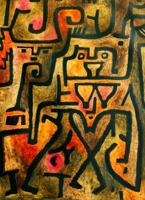 Waldhexen - Paul Klee