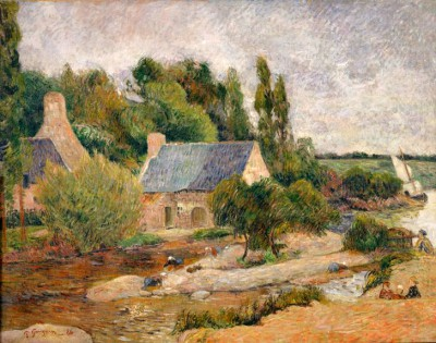 Washerwomen in Pont-Aven - Paul Gauguin