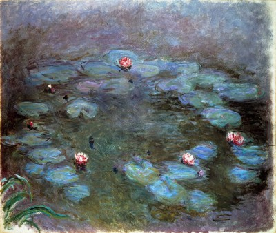 Water lilies (2) - Claude Monet