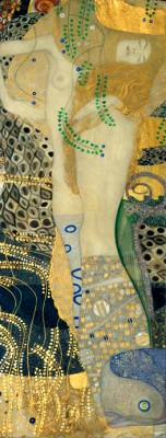 WATER SERPENTS I - Gustav Klimt