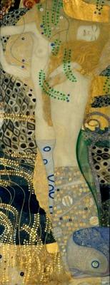 Water snakes I - Gustav Klimt