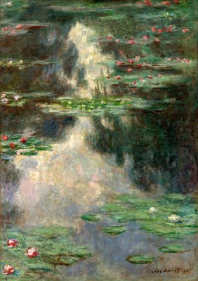 Waterlilies (3) - Claude Monet