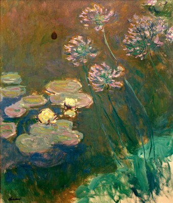 Waterlillies a. Agapanthus - Claude Monet