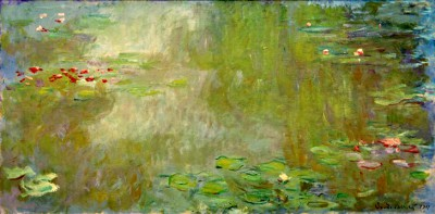 Waterlily pond in the artist's garden in Giverny - Claude Monet