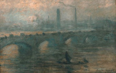 Waterloo Bridge in London - Claude Monet