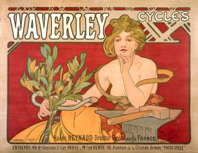 Waverley Cycles - Alfons Mucha