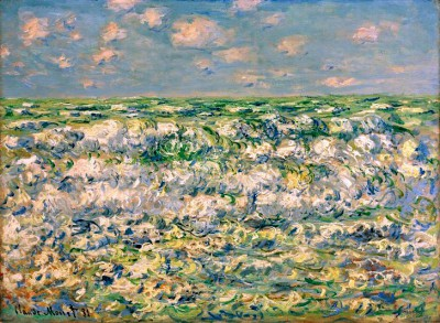 Waves Breaking - Claude Monet