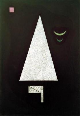 Weiße Schärfe - Wassily Kandinsky