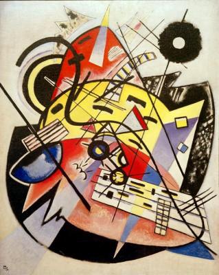 Weißer Punkt (Komposition Nr. 248) - Wassily Kandinsky