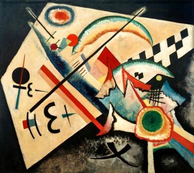Weißes Kreuz - Wassily Kandinsky
