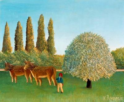 Weideland - Henri Rousseau