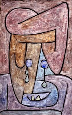 Weinende Frau - Paul Klee