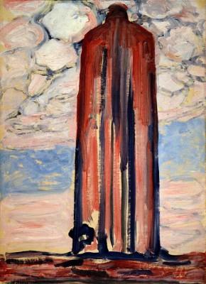 Westkapelle (Niederlande) - Piet Mondrian